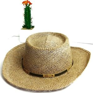 Rodelat Golf Straw Hat Large- Xl Made in Mexico